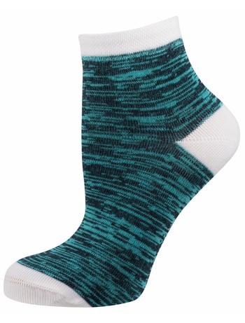 Elbeo Molina Trend Socke Mouliné-Musterung marine/azur melange