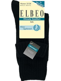 Elbeo Climate Comfort Turn-Up Socken fuer Damen