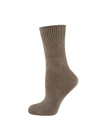 Elbeo Bamboo Seidenweich Socken nougat