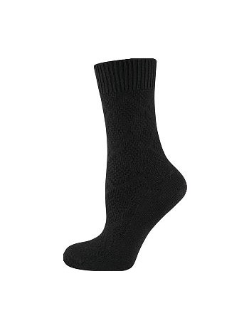 Elbeo Bamboo Seidenweich Socken schwarz