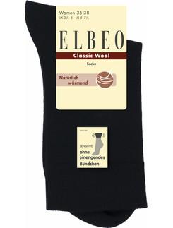 Elbeo Sensitive Damen Wollsocke natürlich wärmend
