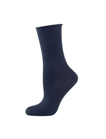 Elbeo Light Cotton Rollbund Socken marine