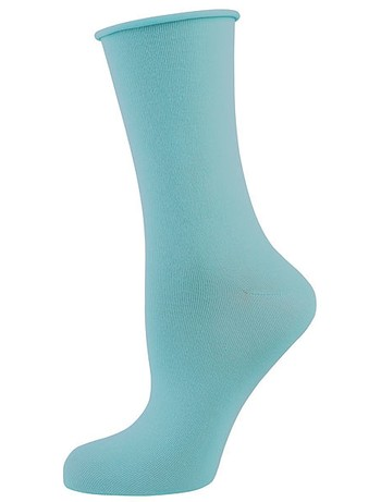 Elbeo Light Cotton Rollbund Socken türkis