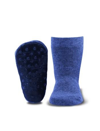 Ewers Stoppi Kinder Haussocken jeans-jaspe