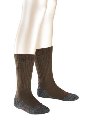 Falke Active Warm Kinder Socken darkbrown