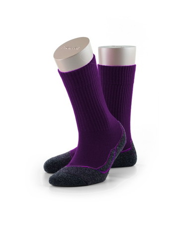 Falke Active Warm Kinder Socken blue purple