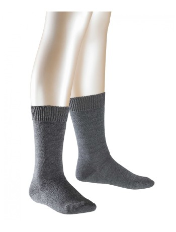 Falke Children Comfort Wool Kindersocken dark grey