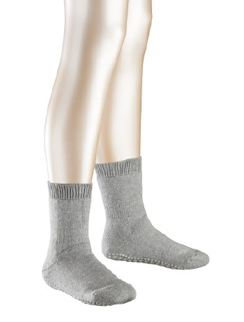 Falke Catspads Kinder Stoppersocken light grey mel.