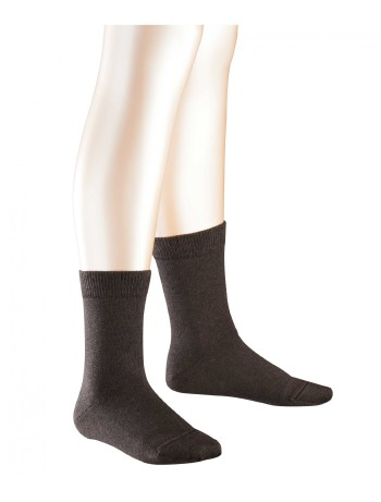 Falke Family Kinder Socken dark brown