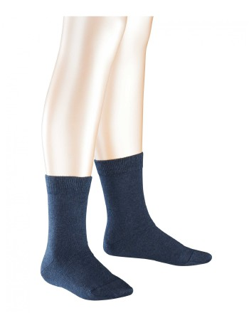 Falke Family Kinder Socken marineblau meliert