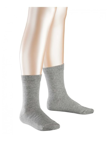 Falke Family Kinder Socken light grey mel.