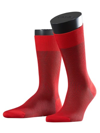 Falke Fine Shadow Herren Socken sporty red