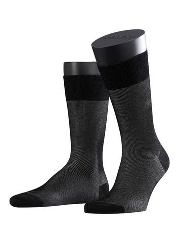 Falke Fine Shadow Herren Socken black