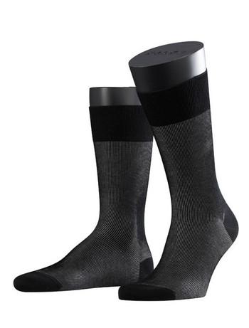 Falke Fine Shadow Herren Socken black