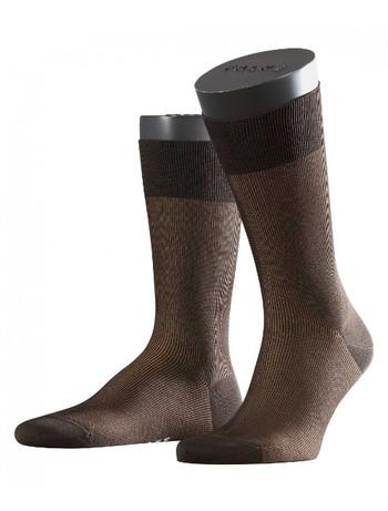 Falke Fine Shadow Herren Socken brown