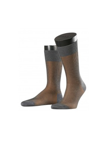Falke Fine Shadow Herren Socken grey melan