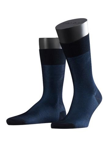 Falke Fine Shadow Herren Socken dunkel marine