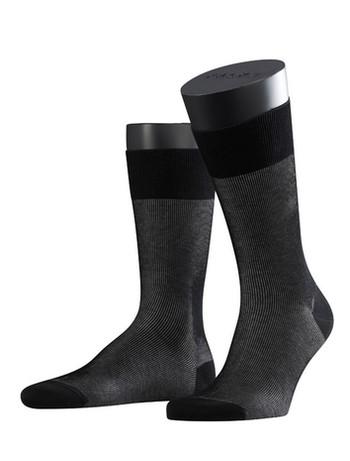 Falke Fine Shadow Herren Socken schwarz