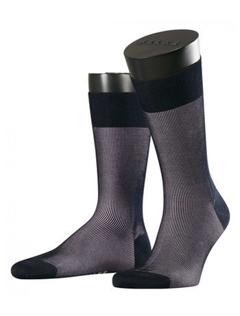 Falke Fine Shadow Herren Socken sailor-black