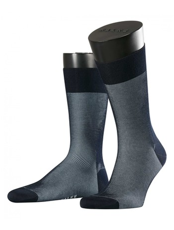 Falke Fine Shadow Herren Socken dark navy