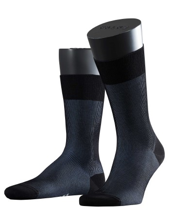 Falke Fine Shadow Herren Socken black/linnen