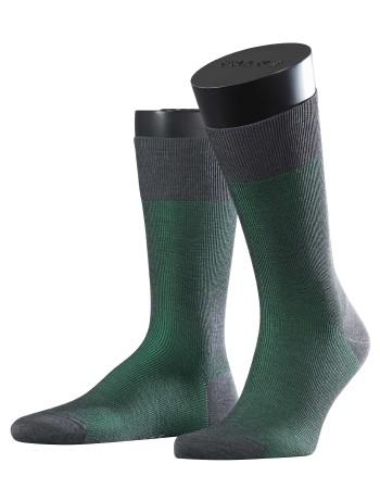 Falke Fine Shadow Herren Socken grau