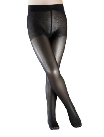 Falke Pure Matt 30 Kinder Strumpfhose black