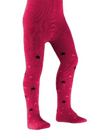 Falke Star Kinder Strumpfhose raspberry