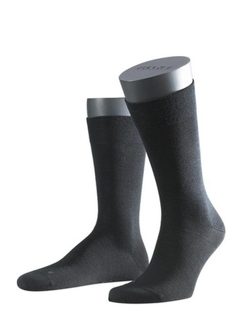 Falke Sensitive Berlin Herren Socken schwarz