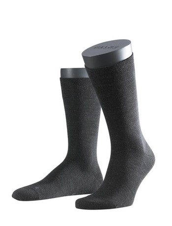 Falke Sensitive Berlin Herren Socken anthrazit mel.
