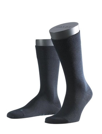 Falke Sensitive Berlin Herren Socken dunkel marine