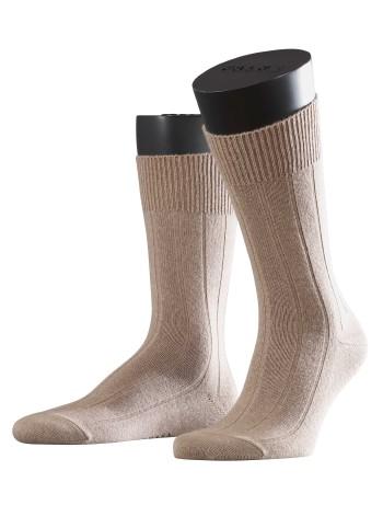Falke Lhasa Rib Herren Socken nutmeg mel.