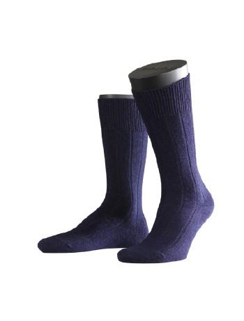 Falke Lhasa Rib Herren Socken dunkel marine