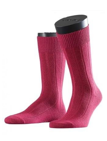 Falke Lhasa Rib Herren Socken raspberry