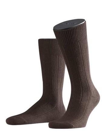 Falke Lhasa Rib Herren Socken brown