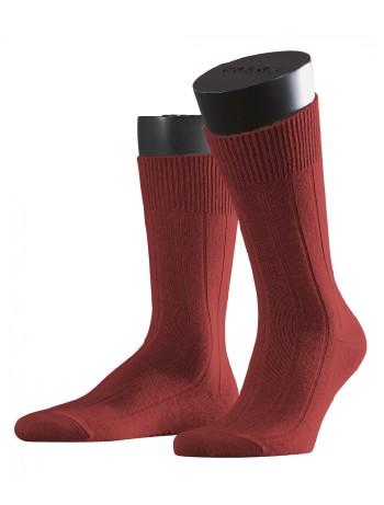 Falke Lhasa Rib Herren Socken wine