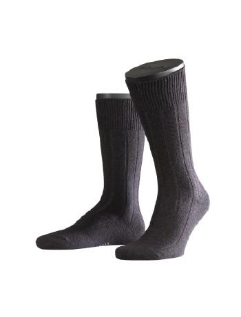 Falke Lhasa Rib Herren Socken anthrazit mel.