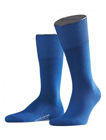 Falke Airport Herren Socken royal blue