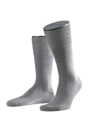 Falke Airport Classic Herrensocke dark grey