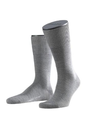 Falke Airport Herren Socken dark grey