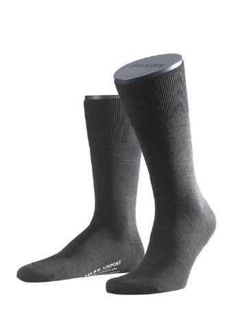 Falke Airport Herren Socken dark brown