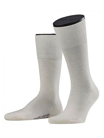 Falke Airport Herren Socken wollweiss
