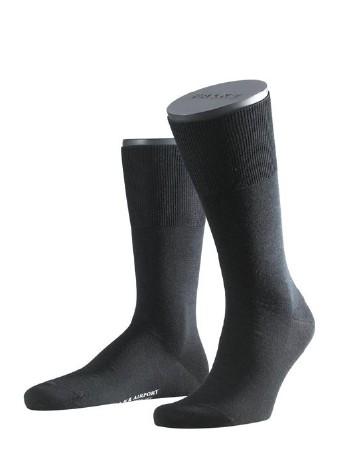 Falke Airport Herren Socken schwarz