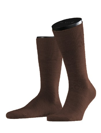 Falke Airport Classic Herrensocke brown