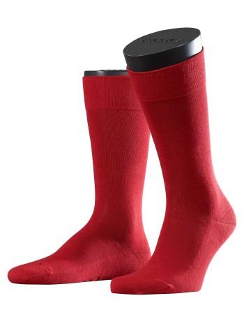 Falke Sensitive London Herren Socken scarlet