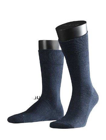 Falke Sensitive London Herren Socken marineblau meliert