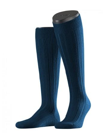 Falke Teppich im Schuh Herren Kniestrümpfe royal blue
