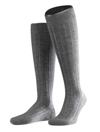 Falke Teppich im Schuh Herren Kniestrümpfe dark grey