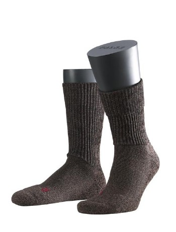 Falke Walkie Ergo Socken dark brown