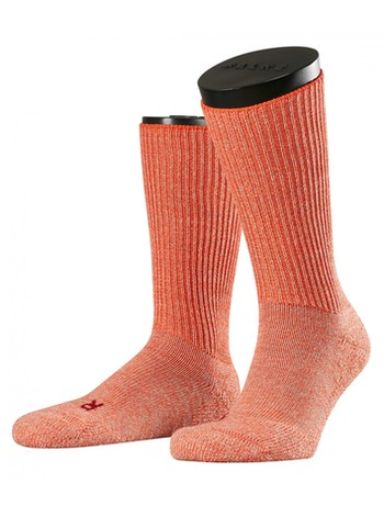 Falke Walkie Ergo Socken red sun